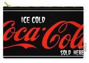 Ice Cold Coke 8 Coca Cola Art Carry-all Pouch