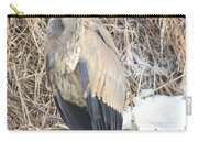 Ice Cold Heron Carry-all Pouch