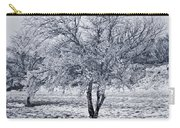Ice Covered Tree Carry-all Pouch