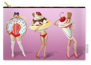 Ice Cream Woman 4 Carry-all Pouch
