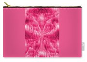 Ice Crystal Angel - Pink Carry-all Pouch