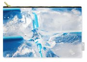 Ice Cubes Carry-all Pouch by Carlos Caetano