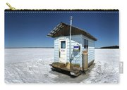 Ice Fishing Shack Carry-all Pouch