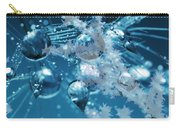 Ice Flower Abstract Carry-all Pouch