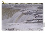 Ice Over The Falls Carry-all Pouch