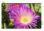 Ice Plant Blossom Carry-all Pouch