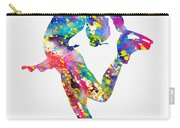 Ice Skater-colorful Carry-all Pouch