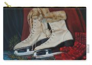 Ice Skates And Mittens Carry-all Pouch