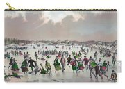 Ice Skating, C1859 Carry-all Pouch