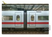 Ice Train At Berlin Station Carry-all Pouch