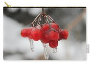 Ice Wrapped Berries Carry-all Pouch