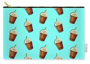 Iced Coffee To Go Pattern Carry-all Pouch