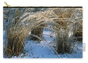 Iced Ornamental Grass Carry-all Pouch