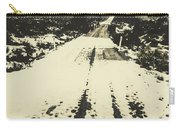 Iced Over Road Carry-all Pouch