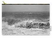Iceland Black Sand Beach Wave One  Carry-all Pouch