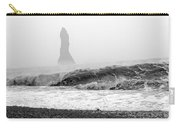 Iceland Black Sand Beach Wave Two Carry-all Pouch
