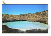 Iceland Blue Lagoon Exploring The Lava Fields Carry-all Pouch