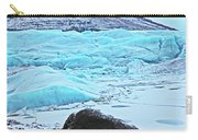 Iceland Glacier Bay Glacier Mountains Iceland 2 322018 1789.jpg Carry-all Pouch