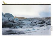 Iceland Glacier Mountains Sky Clouds Iceland 2 2142018 1742.jpg Carry-all Pouch