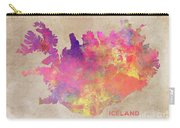 Iceland Map Carry-all Pouch