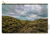 Iceland Moss And Clouds Carry-all Pouch