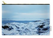 Iceland Rocks Lake Clouds Iceland 2 2112018 0935 Carry-all Pouch