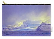 Iceland Sunrise Glacier Lava Field Sunrise Mountains Clouds Iceland 2 2122018 1882.jpg Carry-all Pouch