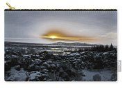 Iceland Sunrise Iceland Lava Field Streams Sunrise Mountains Clouds Iceland 2 2112018 1095.jpg Carry-all Pouch