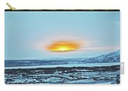 Iceland Sunrise Iceland Lava Field Sunrise Mountains Clouds Iceland 2 2112018 1013.jpg Carry-all Pouch