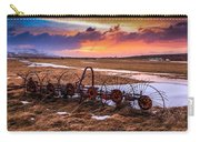 Iceland Sunset # 1 Carry-all Pouch