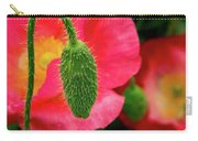 Icelandic Poppy Pod Carry-all Pouch