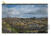 Icelands Mossy Volcanic Rock Carry-all Pouch