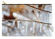 Icicles And Bokeh Carry-all Pouch
