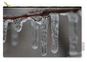 Icicles Close-up Carry-all Pouch