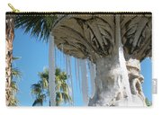 Icicles In A Palm Filled Sky Number 1 Carry-all Pouch