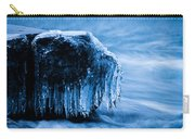 Icicles On The Rocks Carry-all Pouch