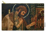 Icon Of Reverend Prince Alexander Nevsky. Saint Petersburg Carry-all Pouch