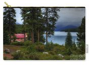 Iconic Maligne Lake And Boat House II Carry-all Pouch