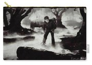 Iconic Movie Scenes - Wolf Man Carry-all Pouch