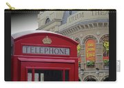 Iconic Postbox And Lyceum Theatre Carry-all Pouch