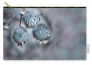 Icy Blue Berries Carry-all Pouch