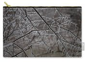 Icy Branches Carry-all Pouch