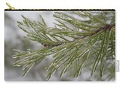 Icy Fingers Of The Pine Carry-all Pouch