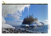 Icy Island View Carry-all Pouch
