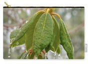 Icy Leaves Carry-all Pouch