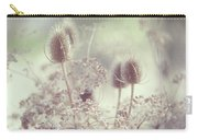 Icy Morning. Wild Grass Carry-all Pouch