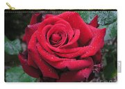 Icy Rose Carry-all Pouch