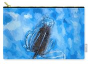 Icy Thistle Plant Carry-all Pouch