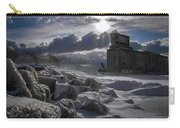 Icy Tundra In Buffalo Carry-all Pouch