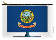 Idaho Flag Tv Carry-all Pouch